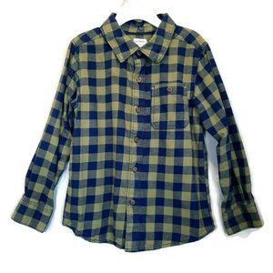 ⭐ Carters Checkered Plaid Flannel Button Shirt
